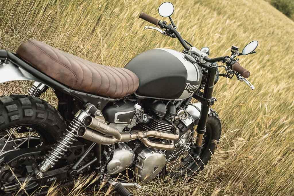 Triumph Bonneville T100 Scrambler
